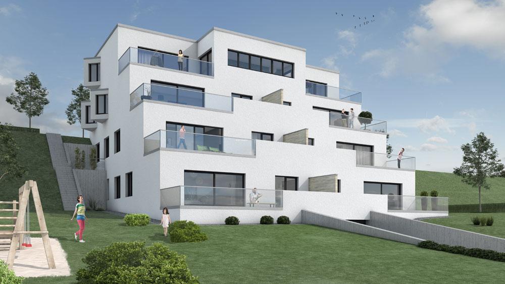 Terassenhaus Eigentumswohnungen Phoenix-See Dortmund