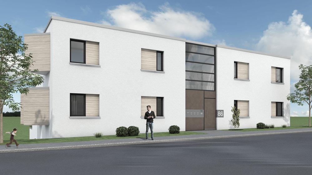 Terassenhaus Eigentumswohnungen am Phoenix-See Dortmund
